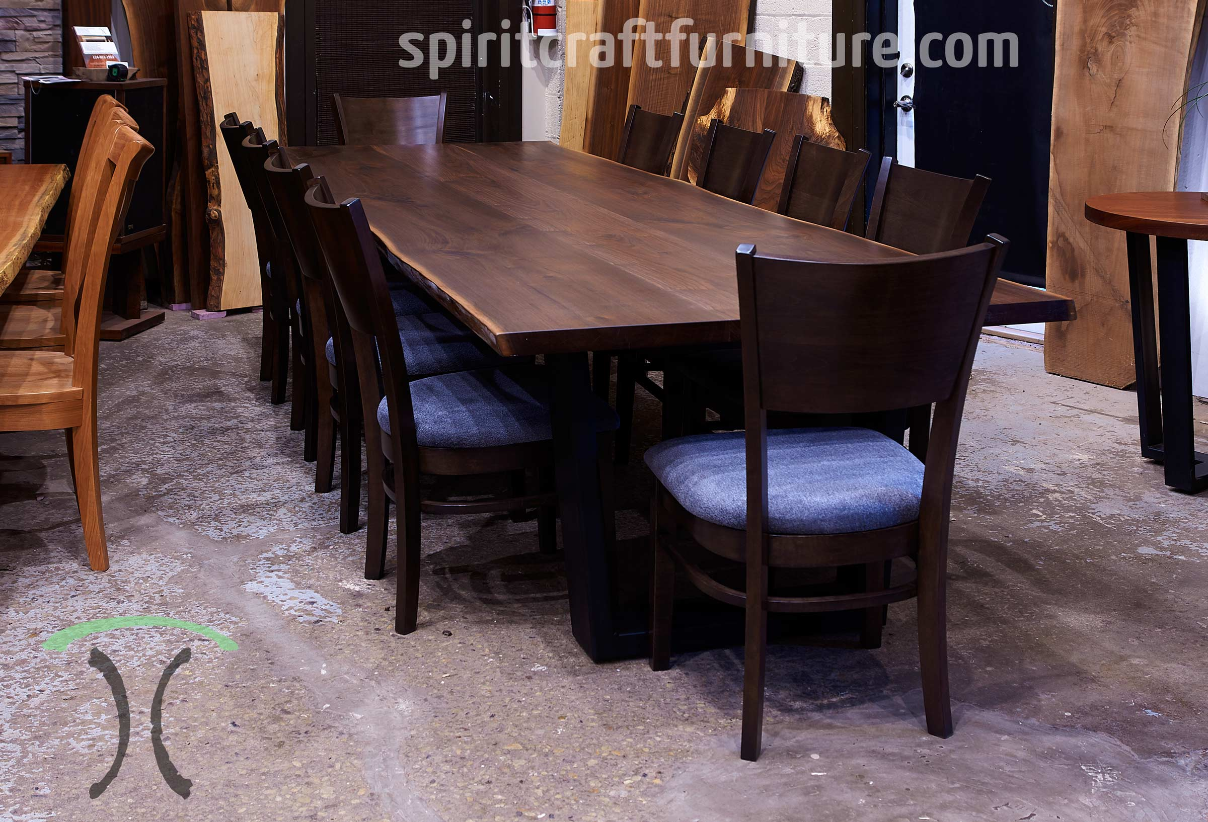 Exterior Balcony Ceiling Designs, Custom Solid Wood Table Tops Live Edge Slab Tables