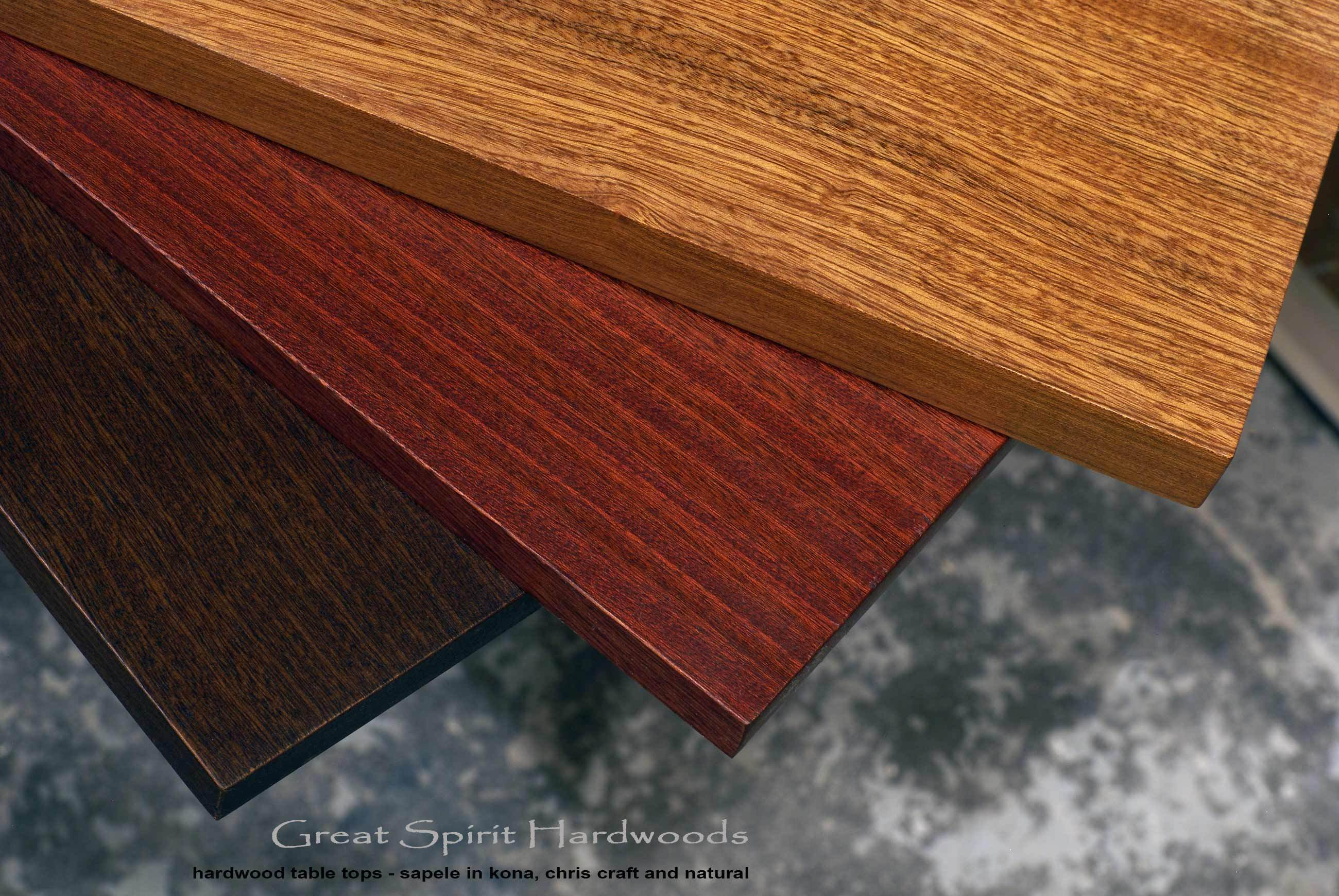 Nice Custom Made Solid Hardwood Table Tops For DIY Clients, Restaurant, Office,  Library And