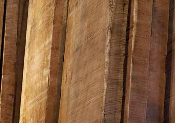 Select boards of Appalachian Cherry Heartwood rough lumber in 4/4, 8/4 and 6/4 at Chicago area wood store, Great Spirit Hardwoods in Dundee, IL.