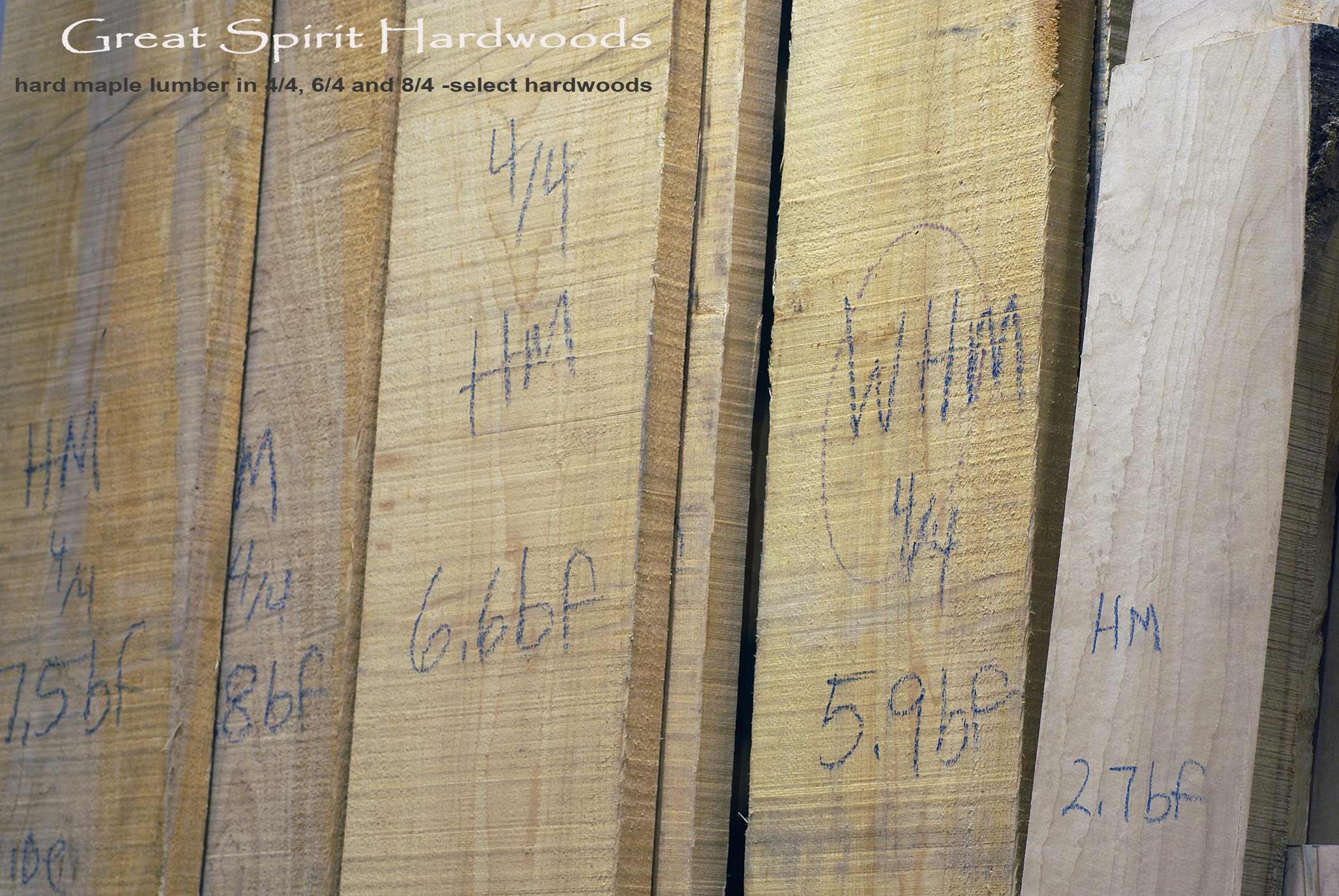 Hardwood lumber sales cherry walnut hickory maple