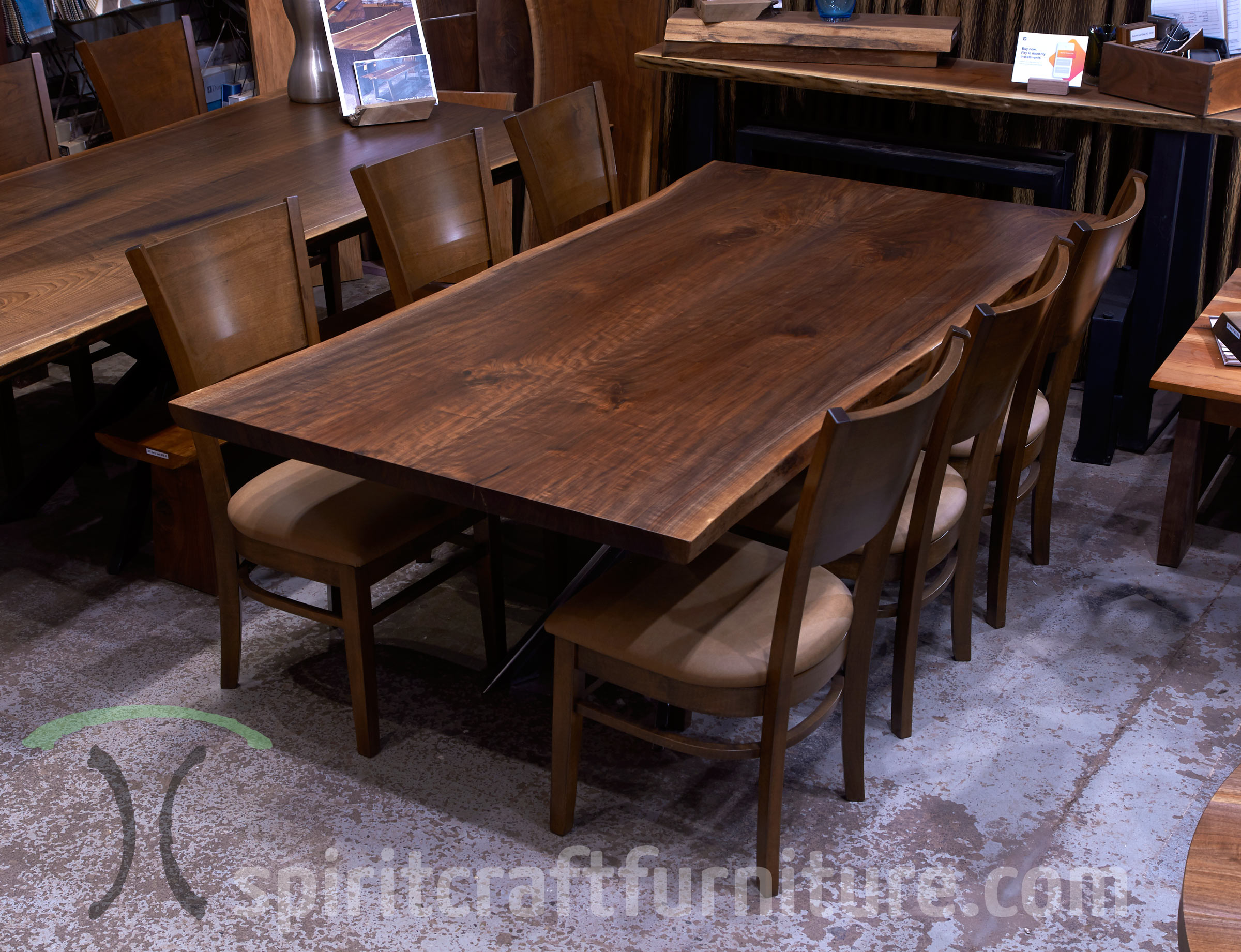 Awe Inspiring Custom Solid Wood Table Tops Live Edge Slab Tables Download Free Architecture Designs Scobabritishbridgeorg