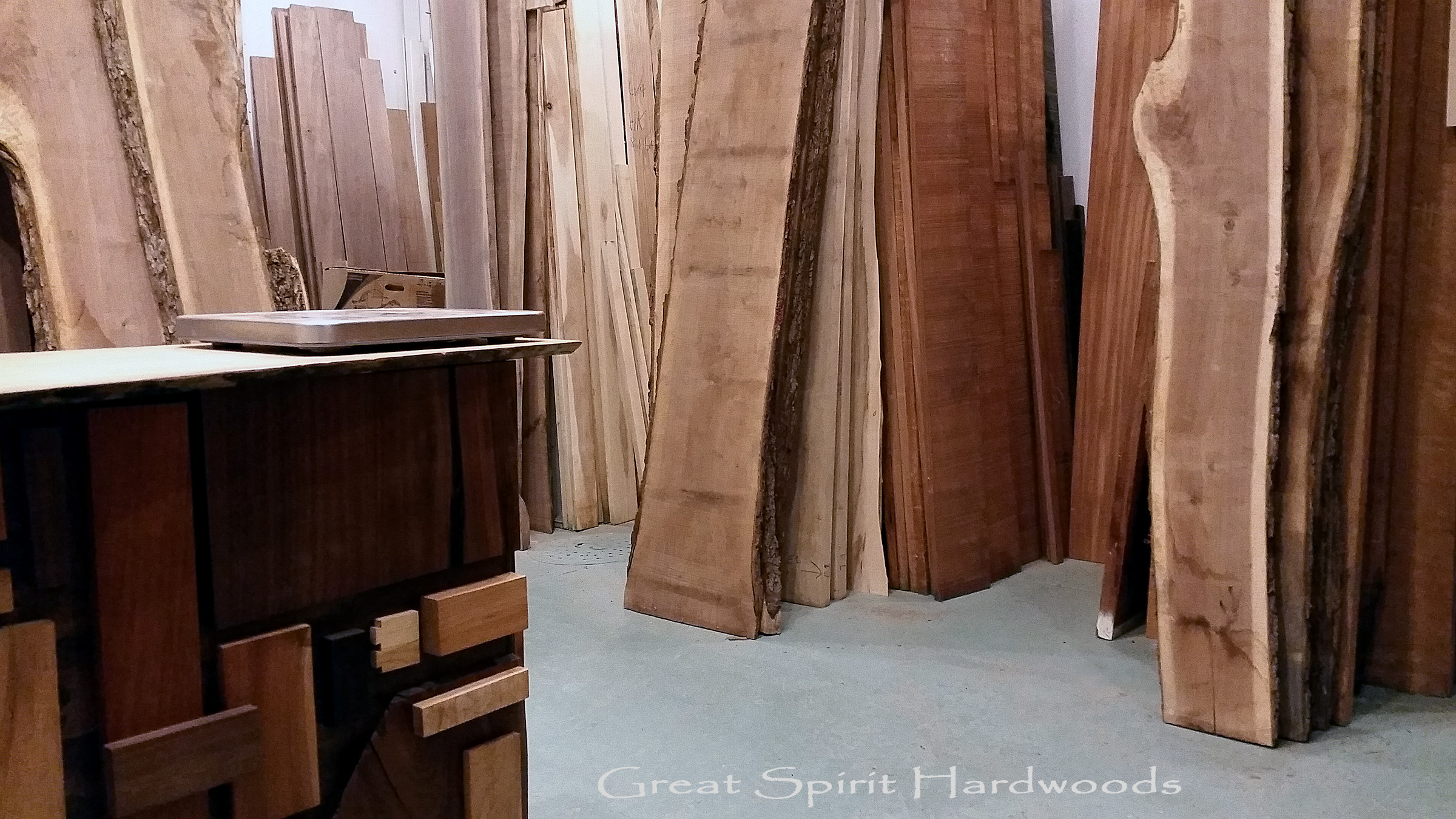 Hardwood Lumber Store, Great Spirit Hardwoods in Dundee, IL